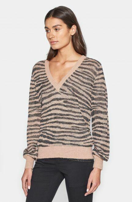 Zebra Wool Sweater