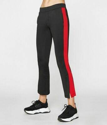 Cropped red stripe flare