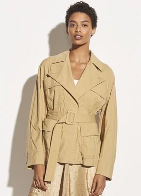 Belted Khaki Jacket