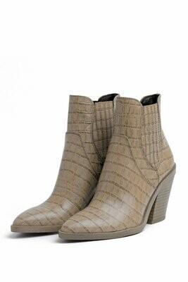 Python Leather Boot