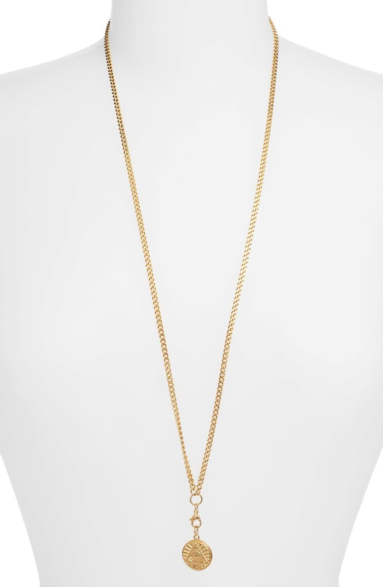 Fiona Pyramid Necklace