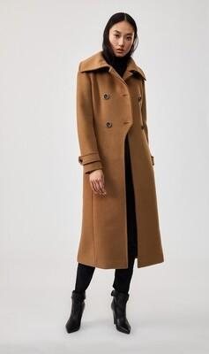 Camel Button Coat