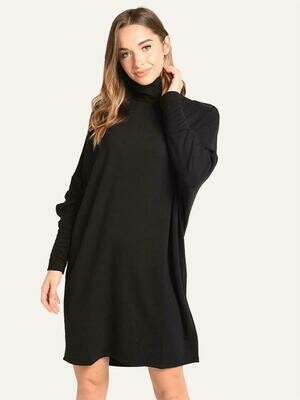 O/S Turtleneck Dress