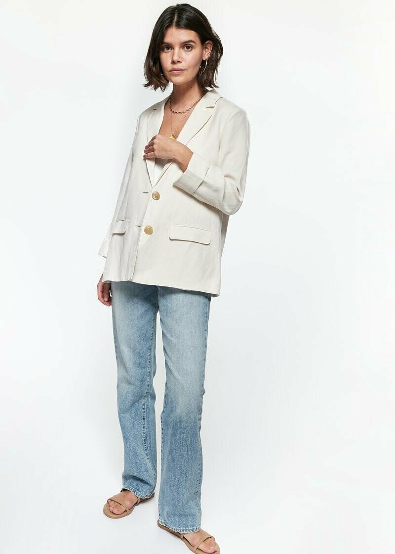Linen O/S Blazer