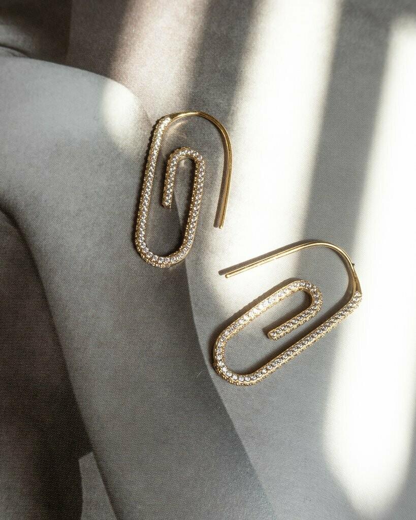 Gold Paper Clip