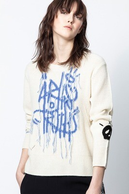 Chunky art sweater