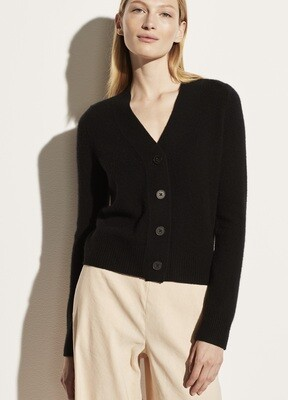 Cashmere Knit Cardi