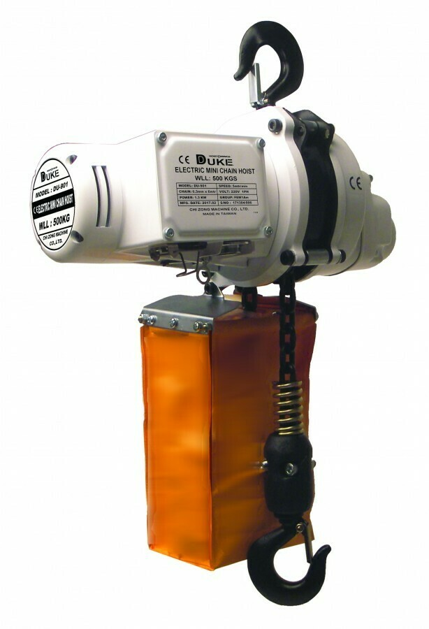 500KG DUKE ELECTRIC HOIST 220V