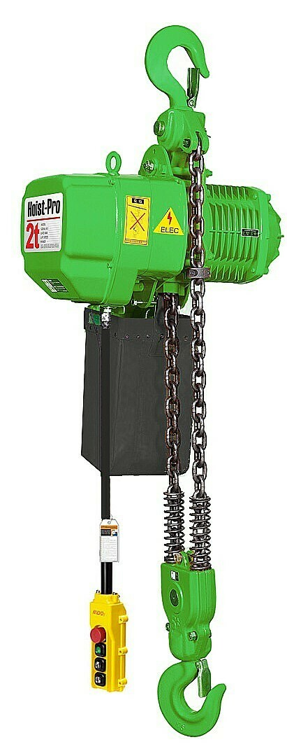 2000KG HOIST PRO 1 SPEED / 2 FALL / 380V