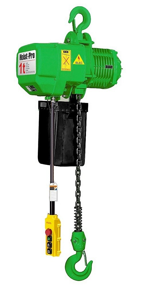 1000KG HOIST PRO 1 SPEED / 1 FALL / 380V