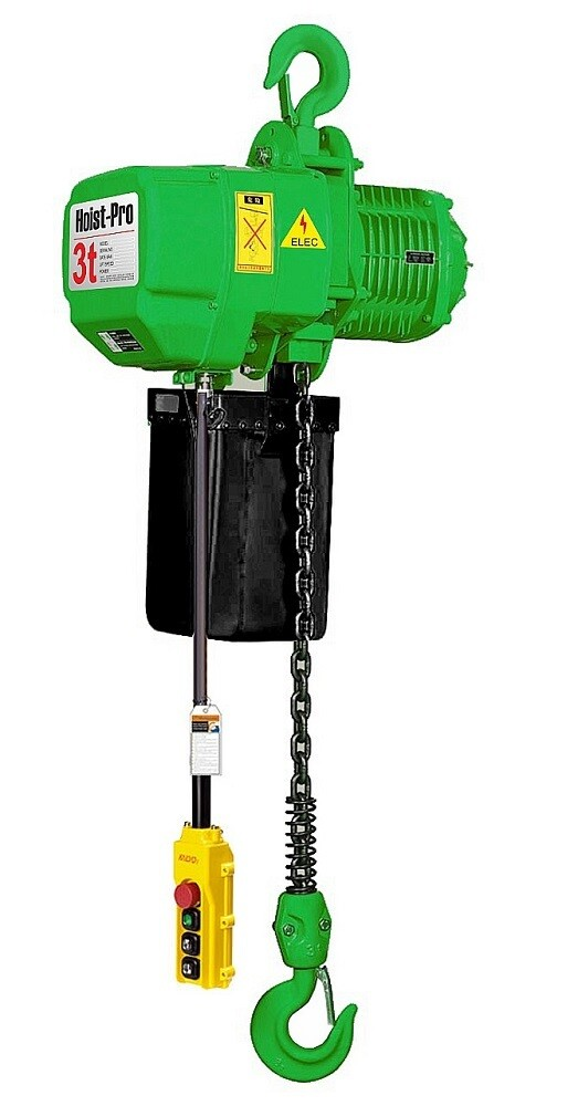 3000KG HOIST PRO 1 SPEED / 1 FALL / 380V