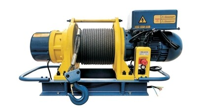 1000KG x 100M ELECTRIC WINCH