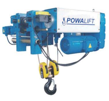 Powalift Low Headroom Rope Hoist 10 Ton 6M Lift