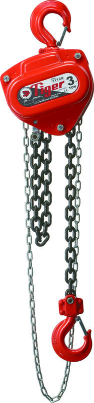 5000Kg Tiger Chain Block without load limiter