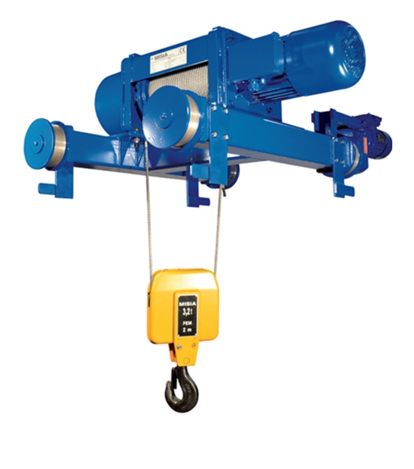 MISIA HOIST 5,000 KG FOUR WHEEL CARRIAGE