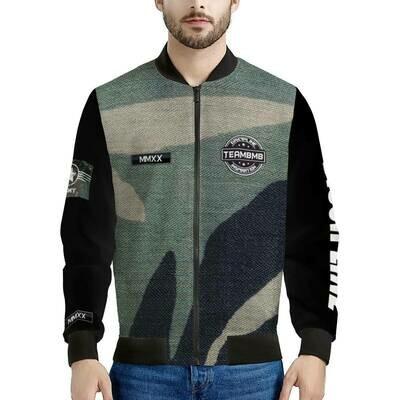 Men's  camo Bomber Jacket