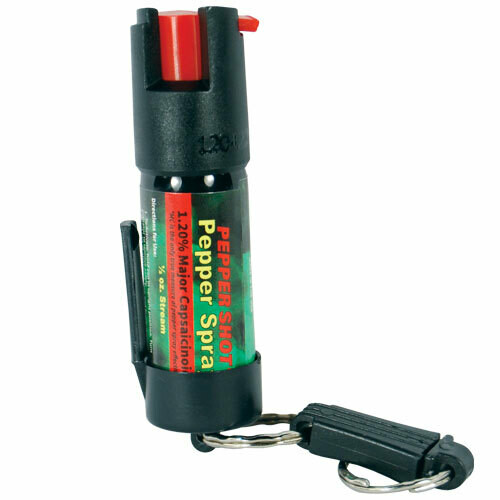 1.2% MC  1/2 oz  pepper spray belt clip