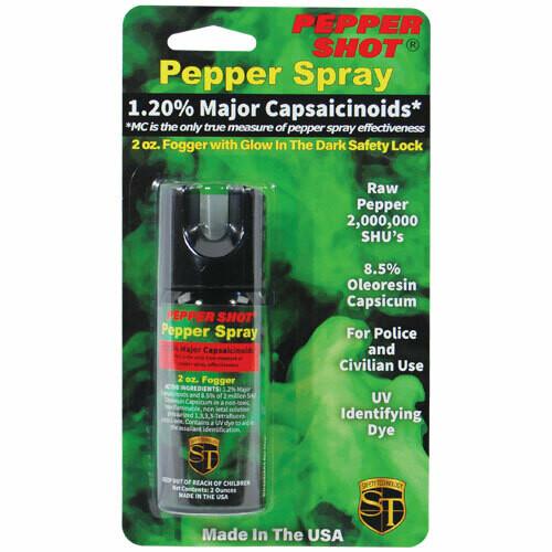 1.2% MC 2 oz pepper spray fogger
