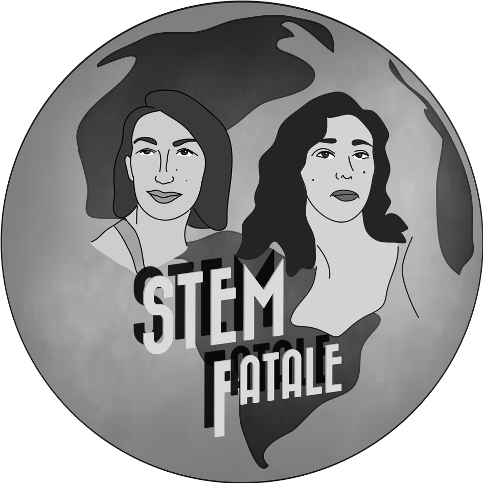 STEM Fatale Logo (1 Sticker)