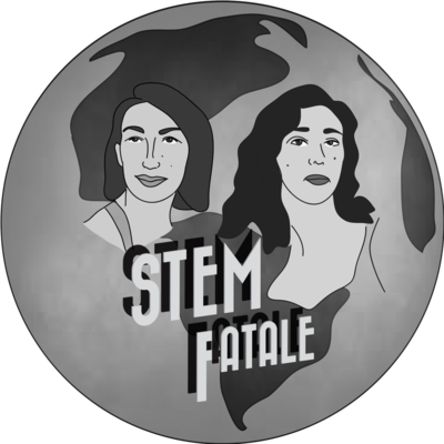 STEM Fatale Logo (1 Sticker)