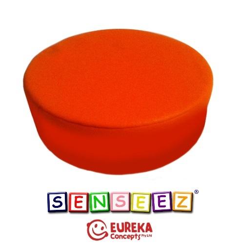 Senseez vibrating cushion - Orange Circle (vinyl)