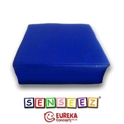 Senseez vibrating cushion - Blue Square (vinyl)