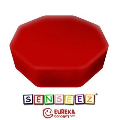 Senseez vibrating cushion - Red Octagon (vinyl)