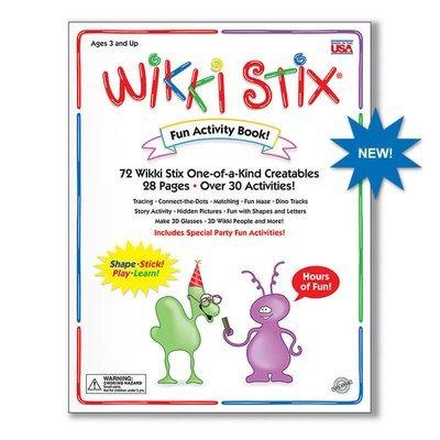 Wikki Stix Fun Activity Book