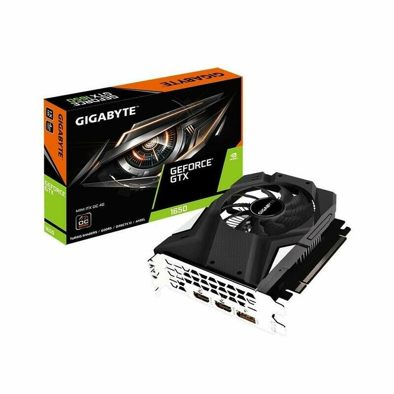 GIGABYTE GeForce GTX 1650 MINI ITX OC 4G, GV-N1650IXOC-4GD