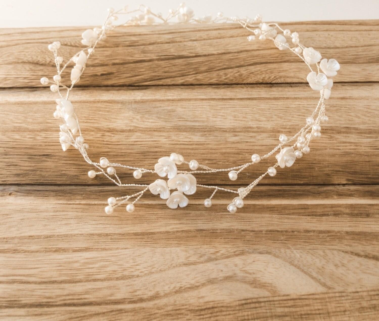 Petite Floral & Pearls