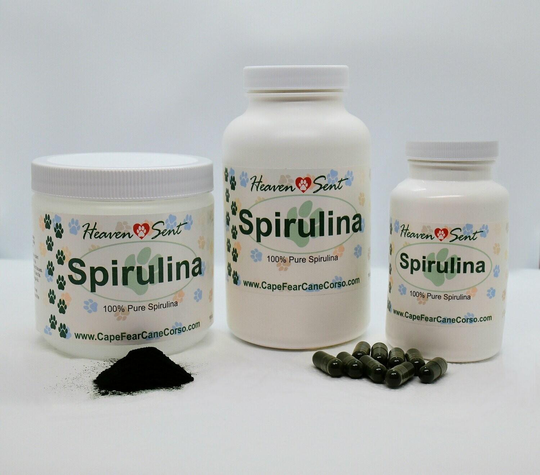 100% Pure Spirulina