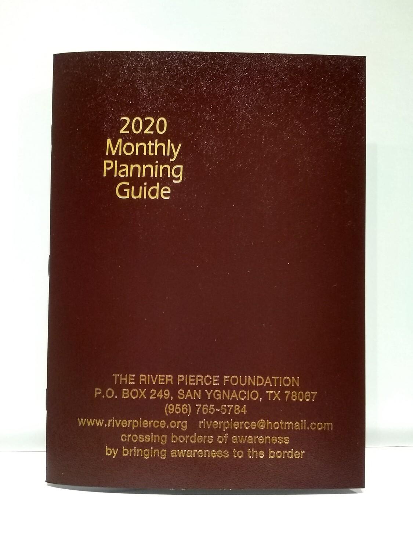 Monthly Diary Calendar 2020
