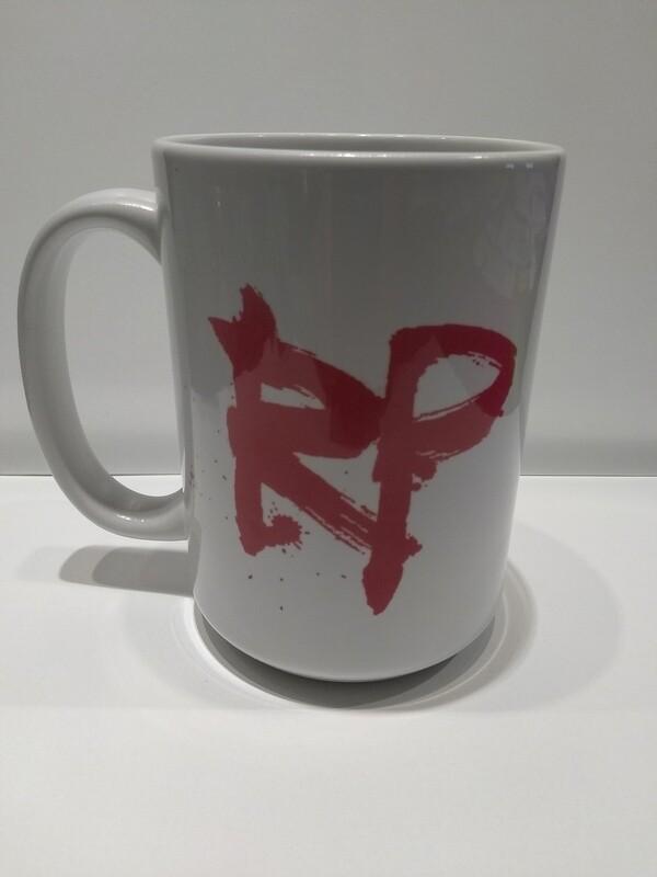River Pierce logo coffee mug