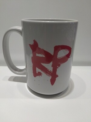 River Pierce logo coffee mug