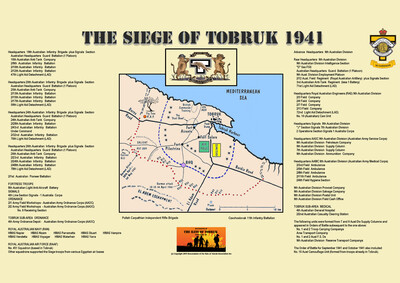 UNITS of the SIEGE - Who Was There ?