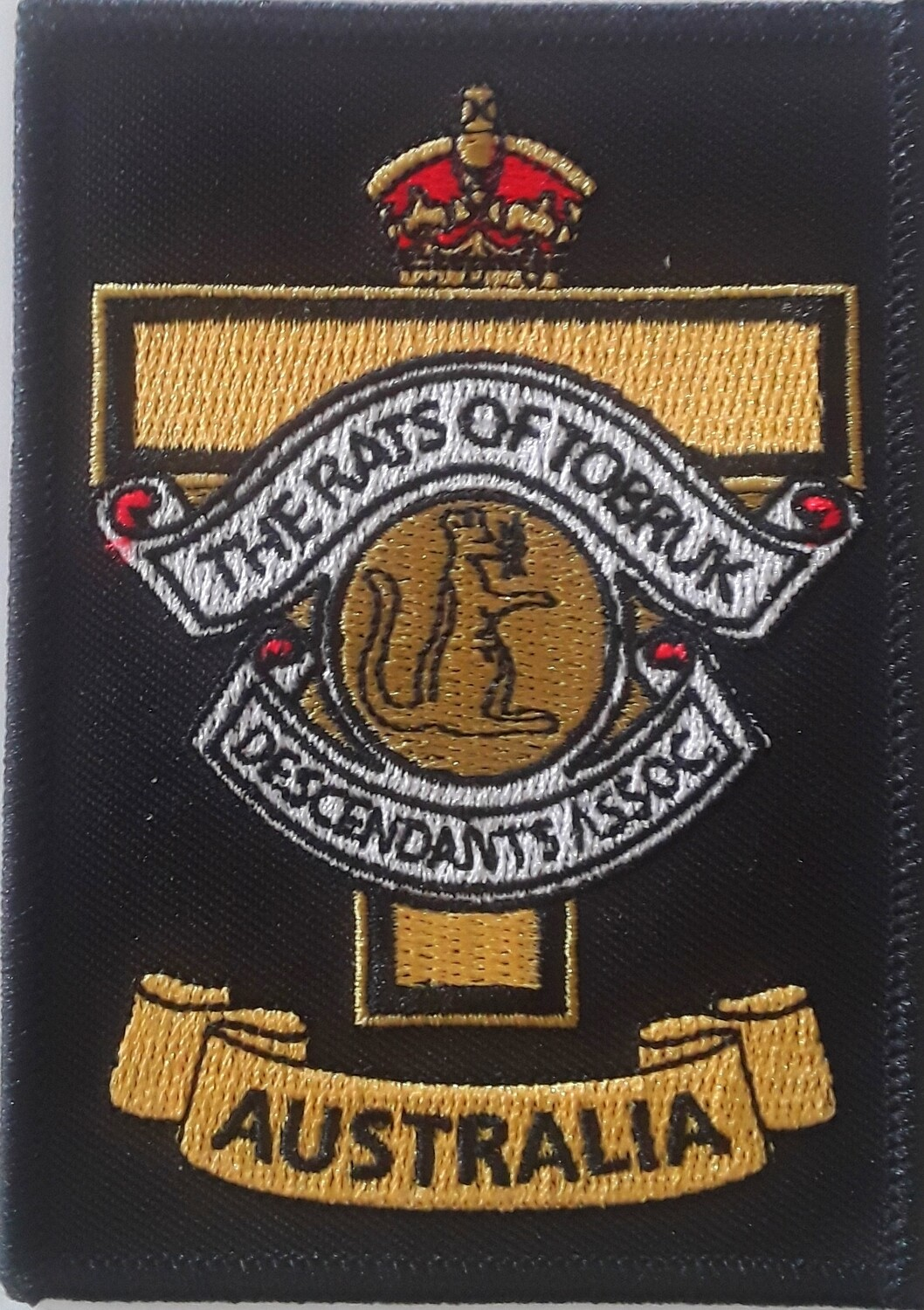 DOTROTA EMBROIDERED POCKET PATCH