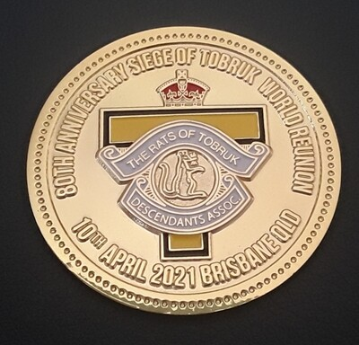 Limited Edition 80TH ANNIVERSARY MEDALLION