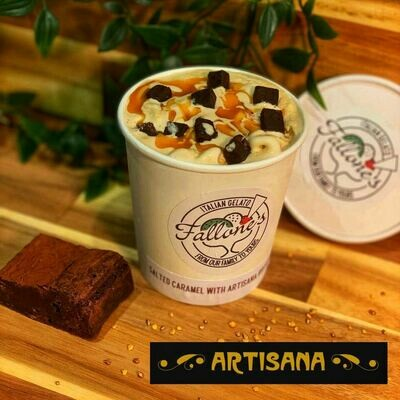 ​Salted Caramel with Artisana Pure Chocolate Brownie Pieces