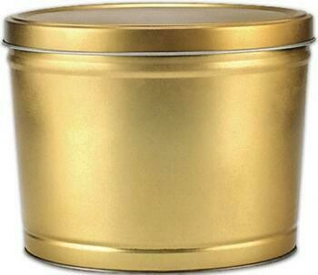 Gourmet Popcorn Tin (2 Gallon) 1 flavor