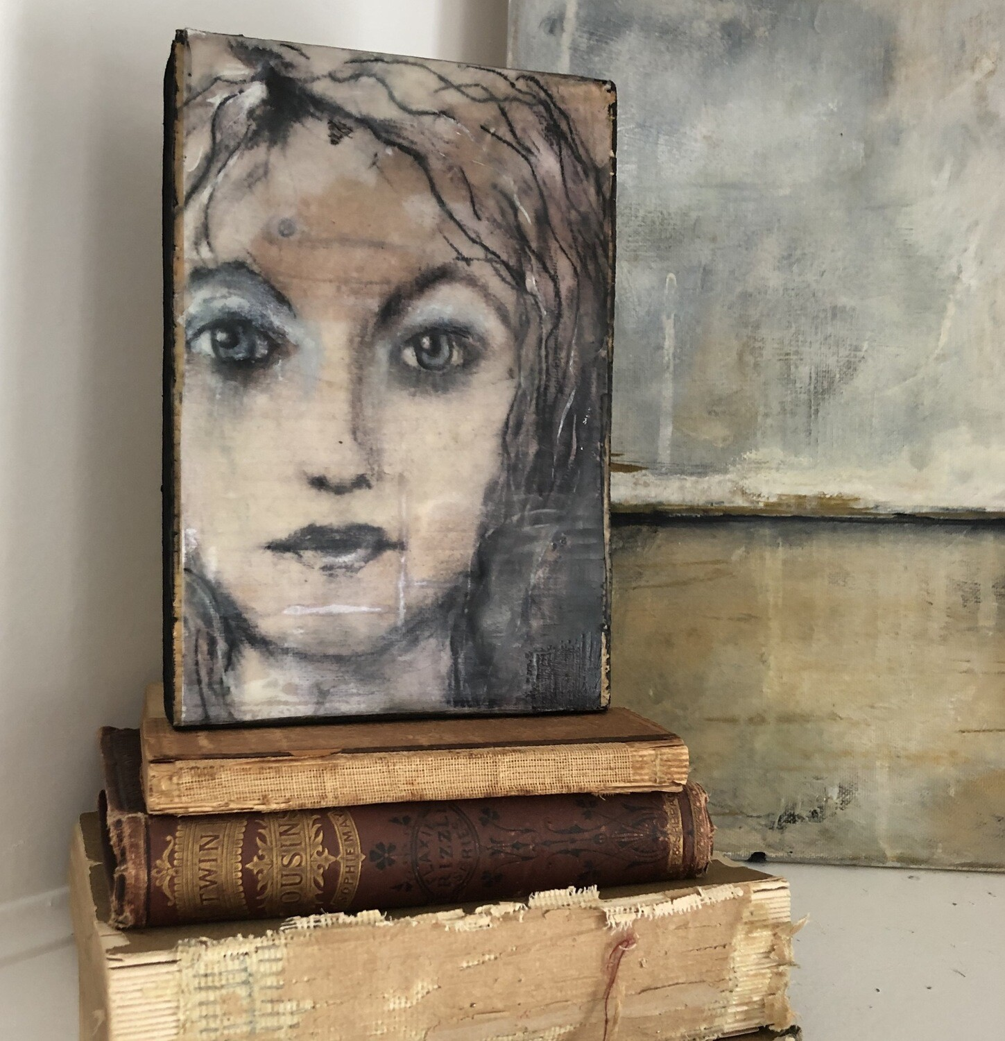 Mixed Media Shelf Block