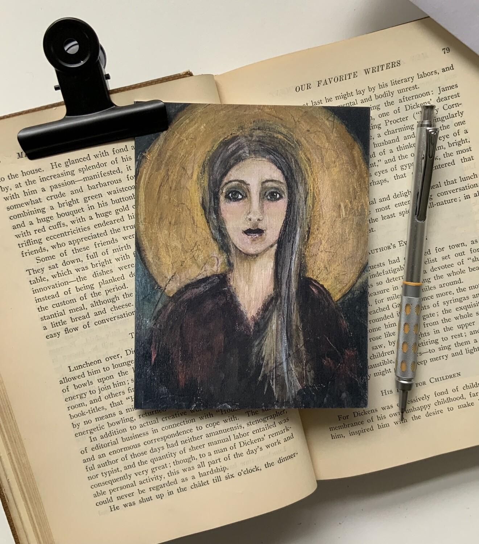 Moon Goddess Note Card