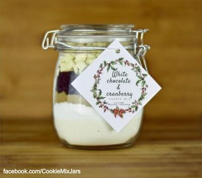White Chocolate & Cranberries