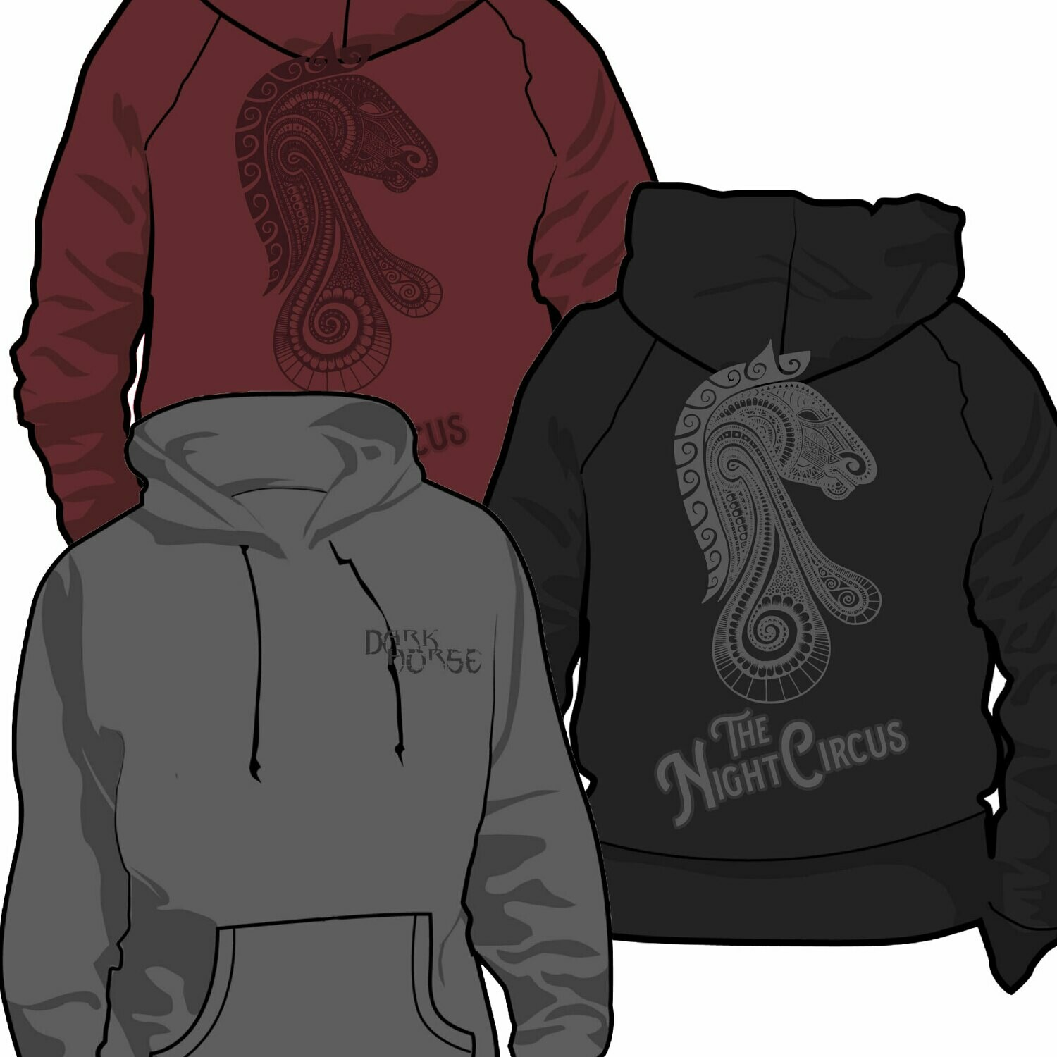 Dark Horse Hoodies