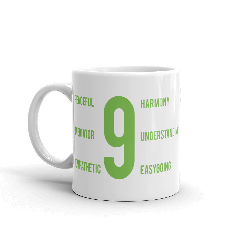 Enneagram 9 Mug