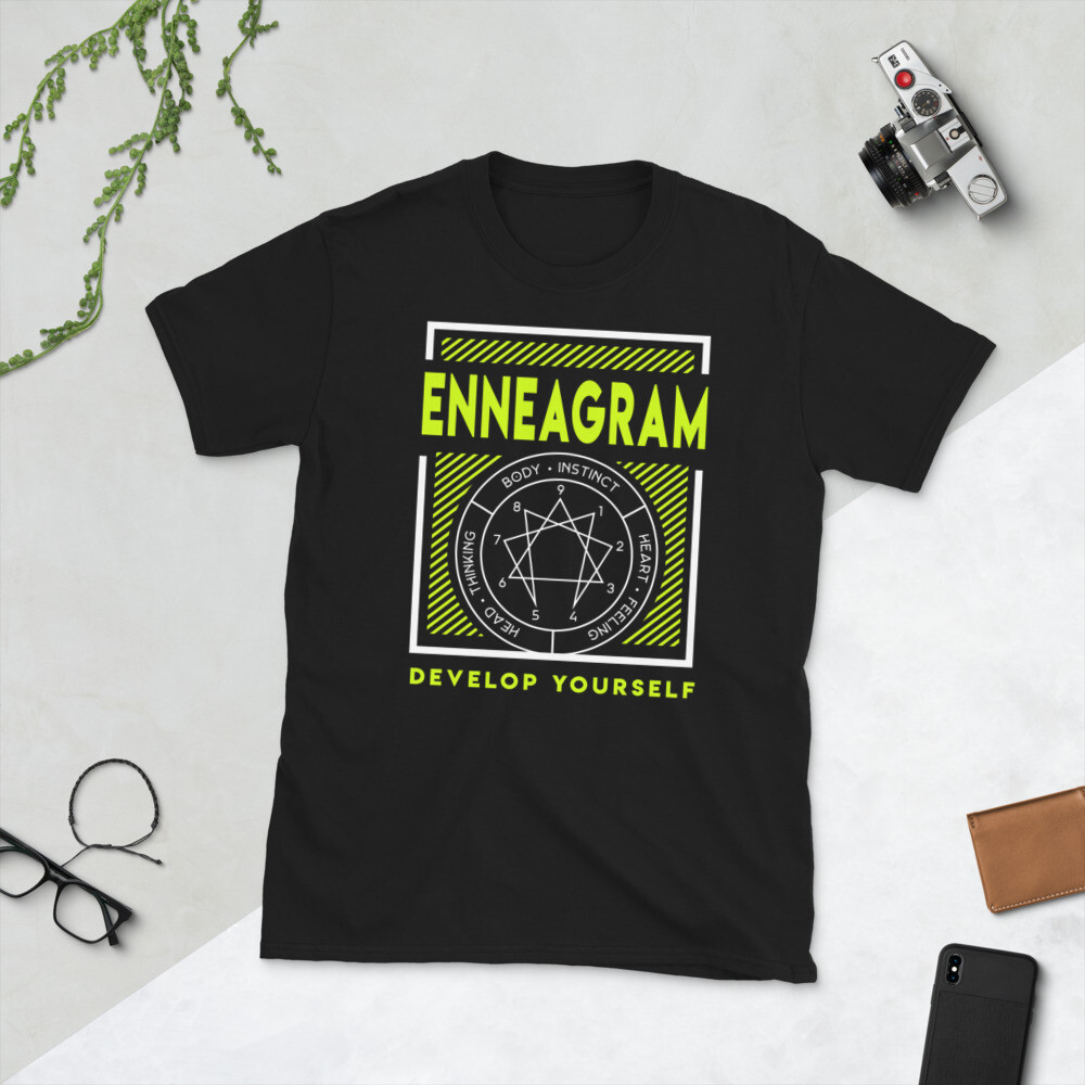 Enneagram Highlighter - Short-Sleeve Unisex T-Shirt