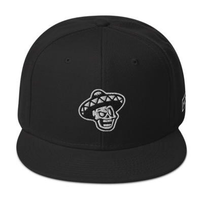 The Mexcellence Logo Snapback Hat (Black and White)