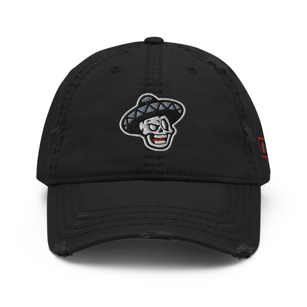 The Mexcellence Logo Distressed Dad Hat
