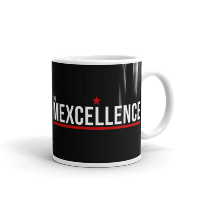 The Mexcellence Logo White Glossy Mug