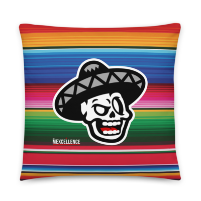 The Mexcellence Logo Double Sided Pillow
