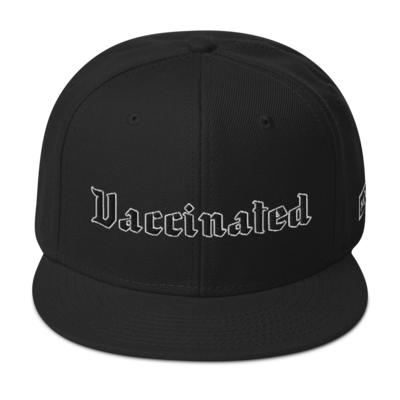 Vaccinated Snapback Hat